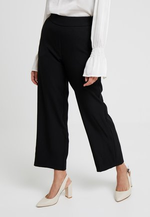 VMGEMMA WIDE PANTS - Kangashousut - black