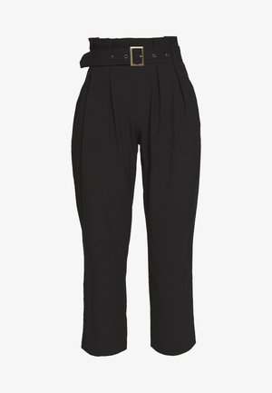 VMVIKIVI BELT PANTS - Broek - black
