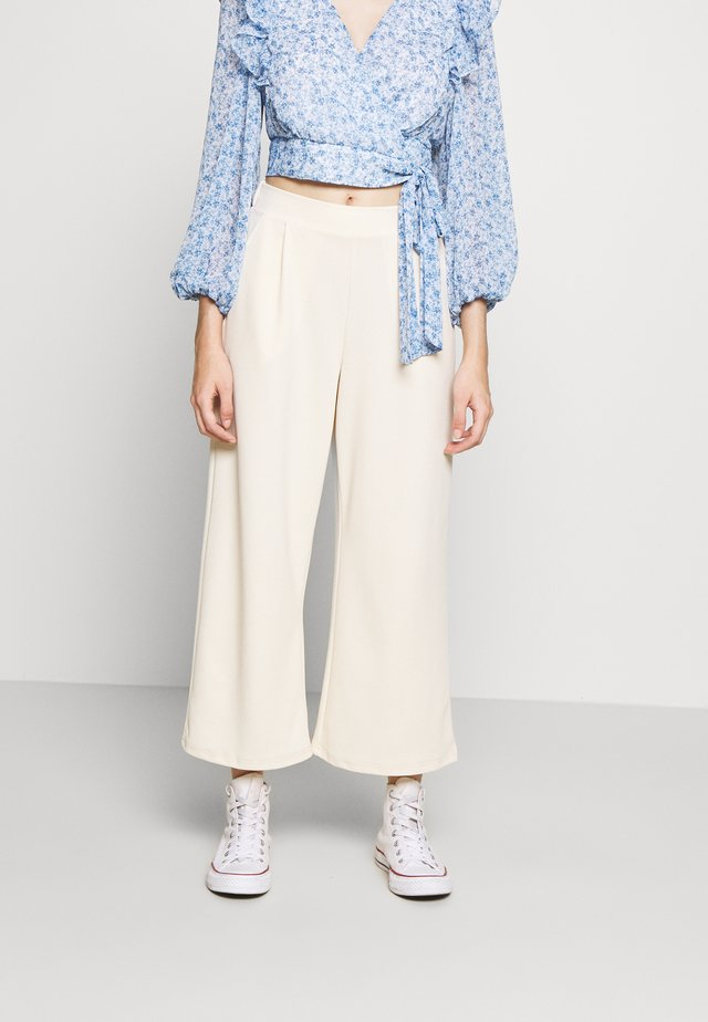 VMMARIA WIDE PANT - Stoffhose - birch