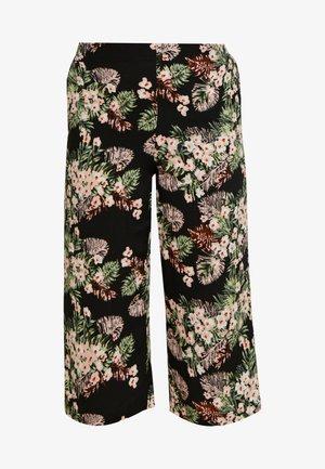 VMSIMPLY EASY CULOTTE PANT - Bukse - black/pilar
