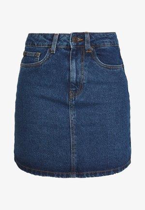 VMKATE SKIRT  - Denimová sukně - medium blue denim