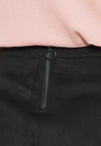 Vero Moda Petite - VMDONNADINA SHORT SKIRT - Minifalda - black - 5