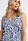 Vero Moda Petite - VMMOLLY DRESS - Maxi-jurk - moonlight blue