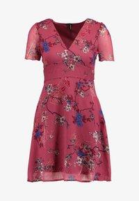 Vero Moda Petite - VMKATINKA  SHORT DRESS - Denní šaty - dry rose/katinka - 5