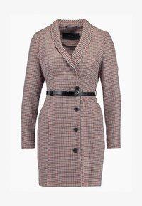 Vero Moda Petite - VMALICIA SHORT DRESS - Denní šaty - tobacco brown - 3