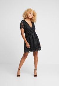 Vero Moda Petite - VMDORA SHORT DRESS - Robe de soirée - black - 2