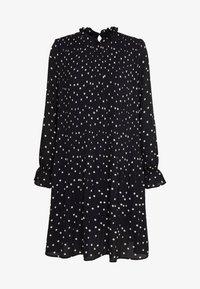 Vero Moda Petite - VMDORIT PLEAT DRESS - Vapaa-ajan mekko - black - 3