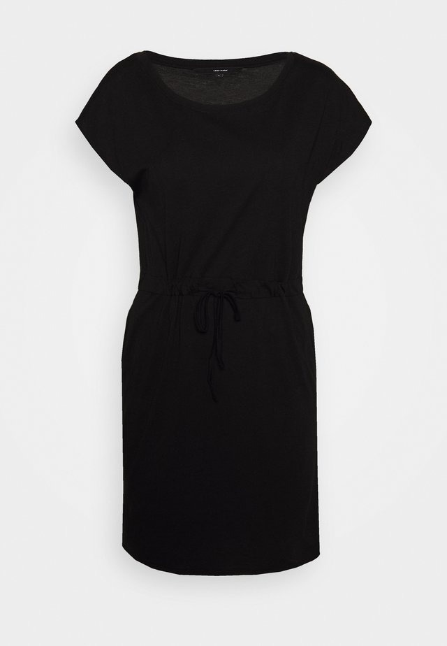 VMAPRIL SHORT DRESS 2PACK - Sukienka z dżerseju - black/bungee cord