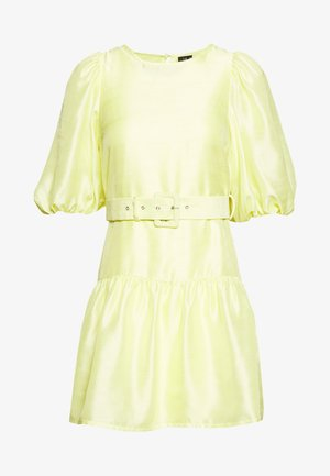 VMLOUI BELT DRESS VIP  - Vestido informal - sunny lime