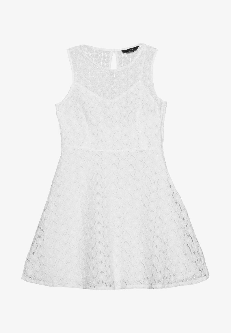Vero Moda Petite - VMALLIE SHORT DRESS - Vestido informal - snow white
