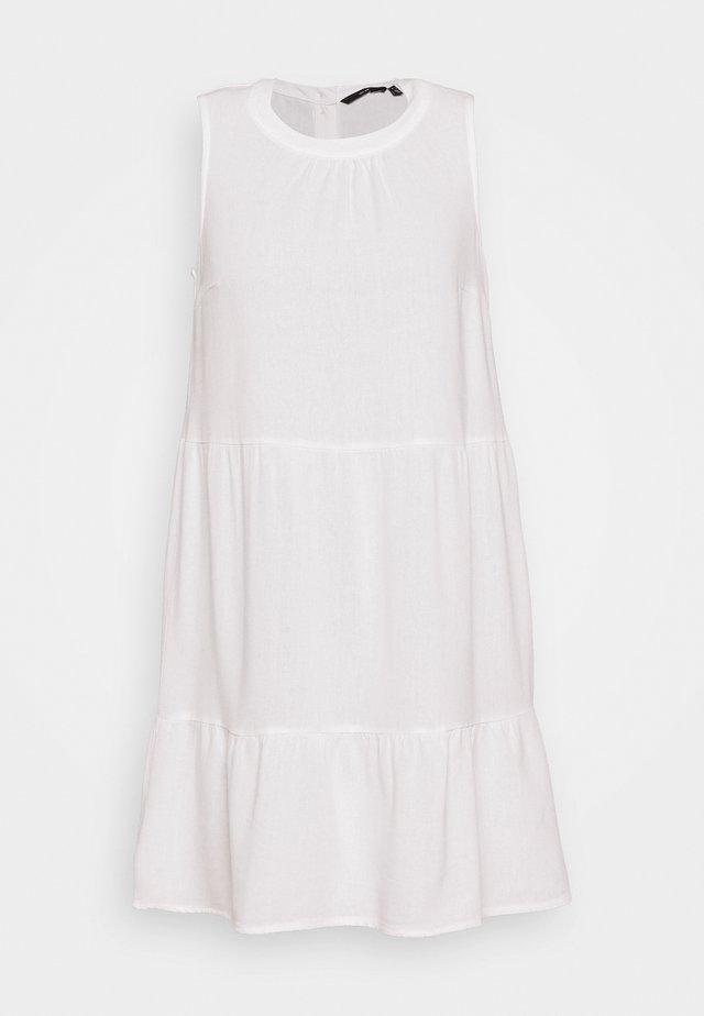 VMHELENMILO SHORT DRESS - Korte jurk - snow white