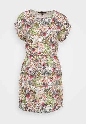 VMSIMPLY EASY SHORT DRESS - Korte jurk - snow white/judith