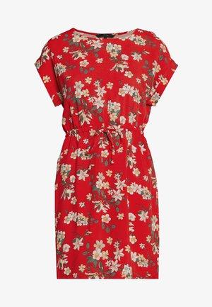 VMSIMPLY EASY SHORT DRESS - Kjole - goji berry/johanna