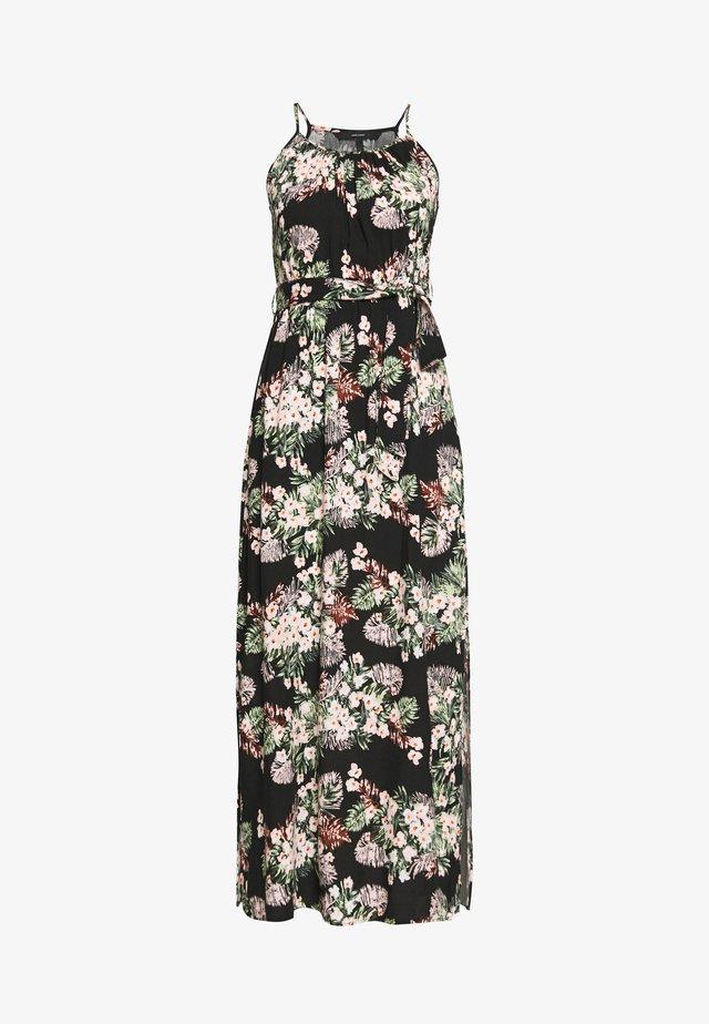 VMSIMPLY EASY SLIT DRESS - Maxi-jurk - black