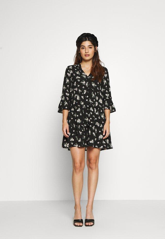 VMSIMPLY EASY SHORT DRESS  - Korte jurk - black