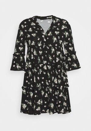 VMSIMPLY EASY SHORT DRESS  - Vestito estivo - black