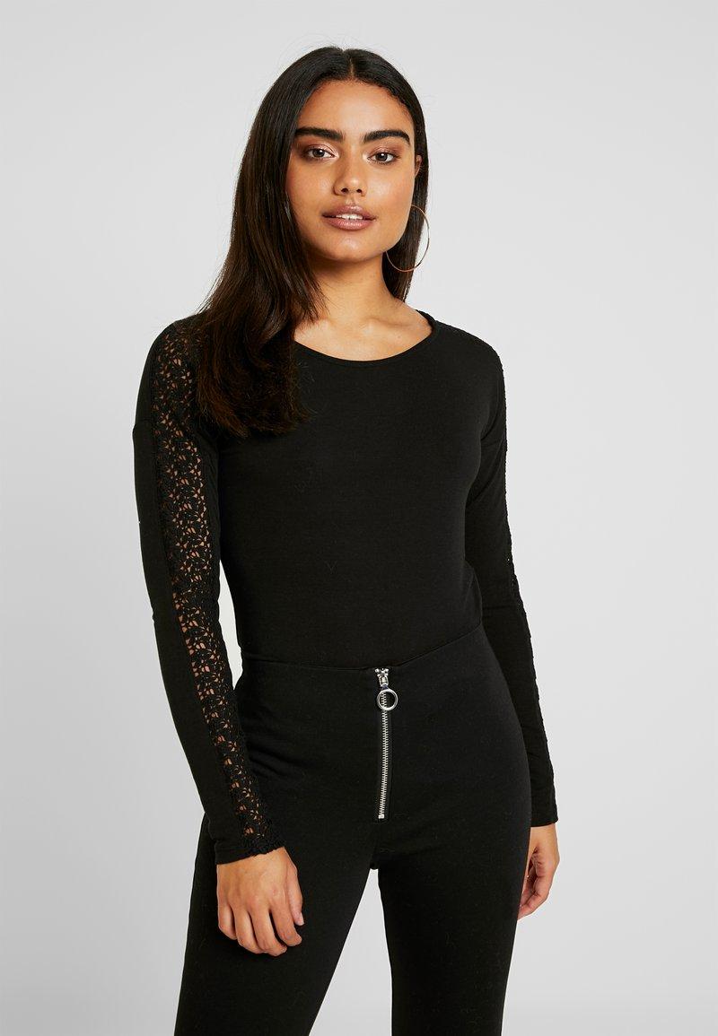 Vero Moda Petite - VMCELENA - T-shirt à manches longues - black