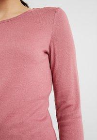 Vero Moda Petite - VMBIRTHE O-NECK - Trui - mesa rose - 5
