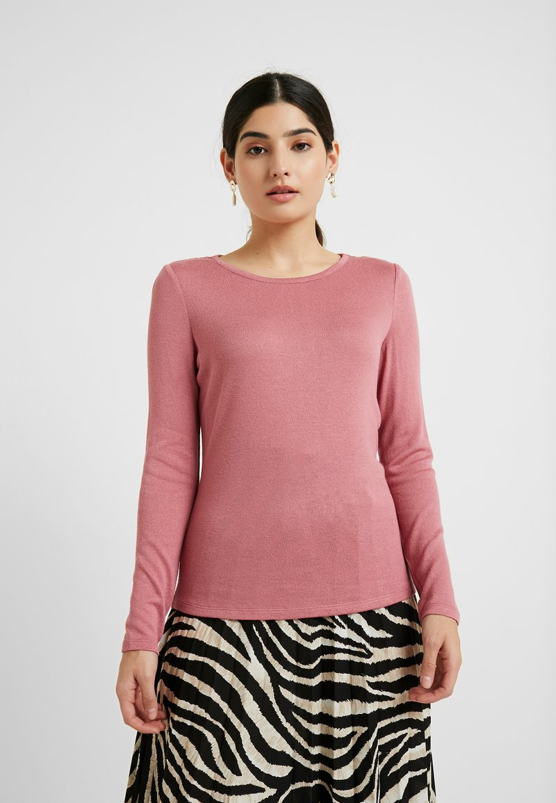 Vero Moda Petite - VMBIRTHE O-NECK - Trui - mesa rose