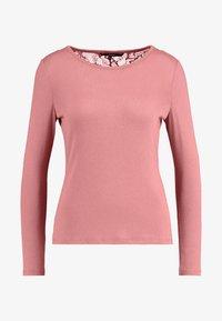 Vero Moda Petite - VMBIRTHE O-NECK - Trui - mesa rose - 4