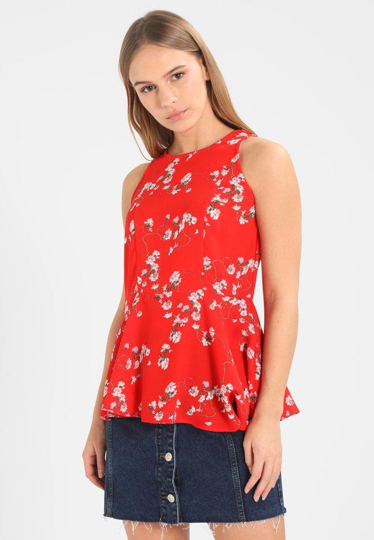 Vero Moda Petite - VMLALA  - Blouse - poppy red