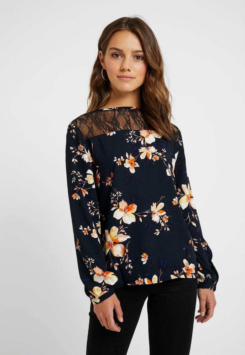 Vero Moda Petite - VMREEDA BLOUSE - Bluse - navy blazer
