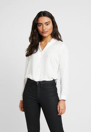VMJORDAN - Button-down blouse - snow white