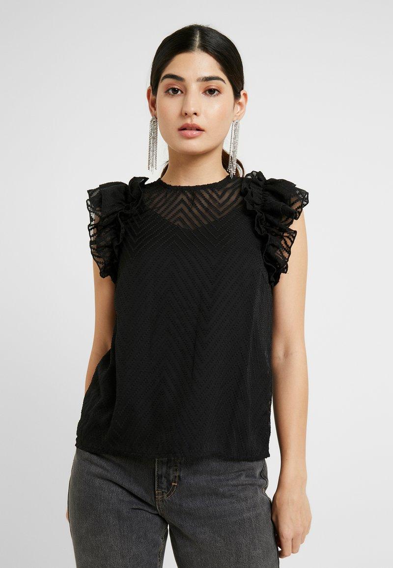 Vero Moda Petite - VMJADE ONECK - Blouse - black