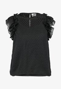 Vero Moda Petite - VMJADE ONECK - Blouse - black - 4