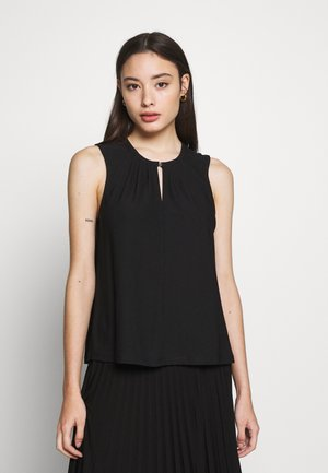 VMMILLA BUTTON - Top - black