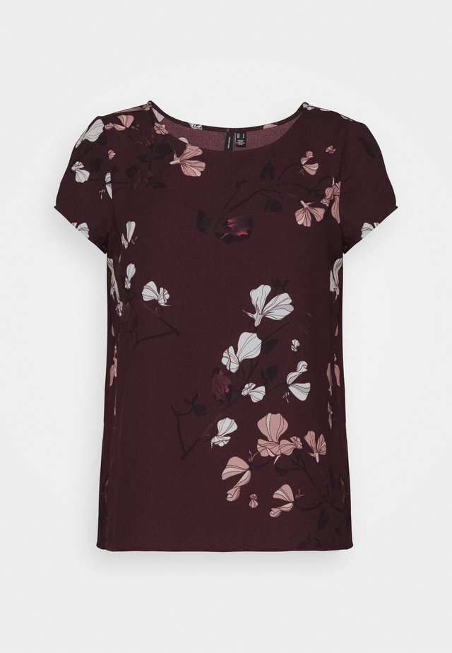 VMANNIE TOP PETITE - Blouse - winetasting/hallie