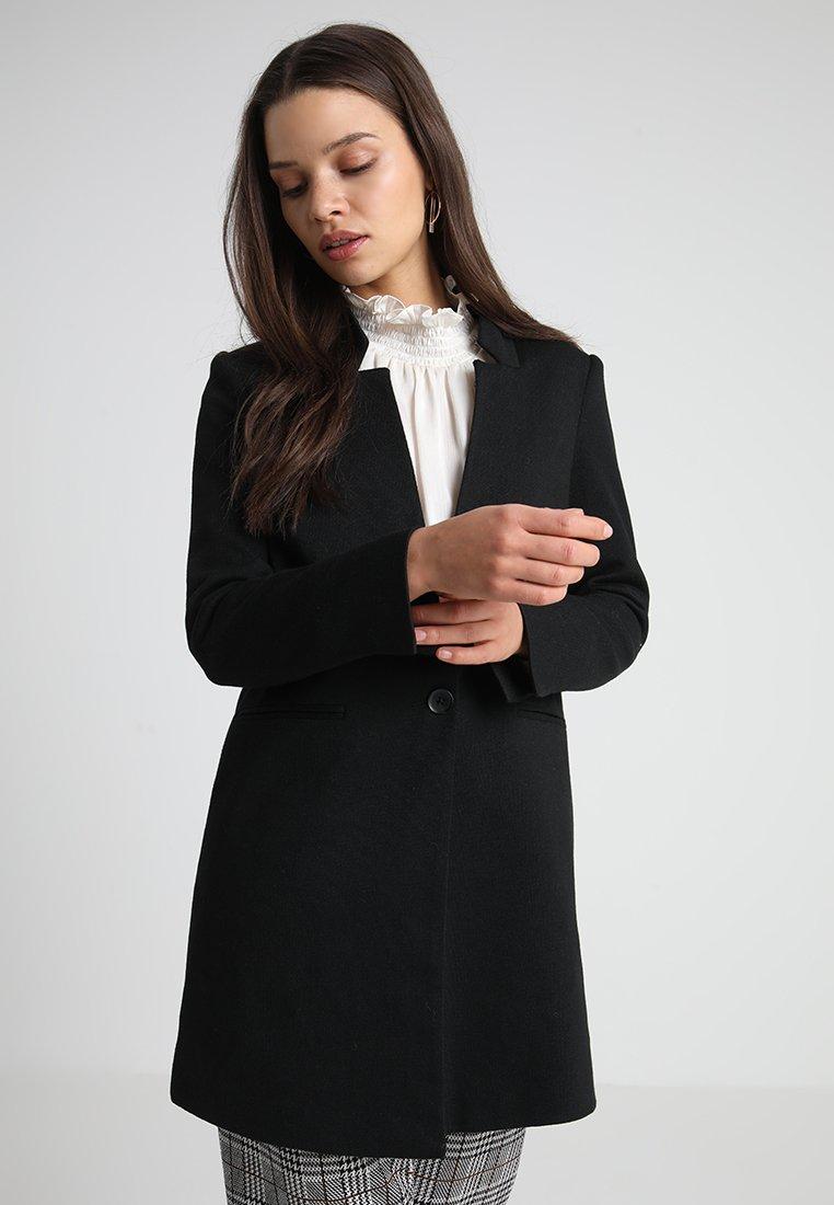 Vero Moda Petite - VMJUNE LONG  - Halflange jas - black