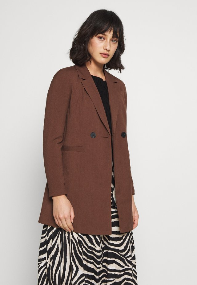 VMDORIT JACKET BOOS - Kurzmantel - rocky road
