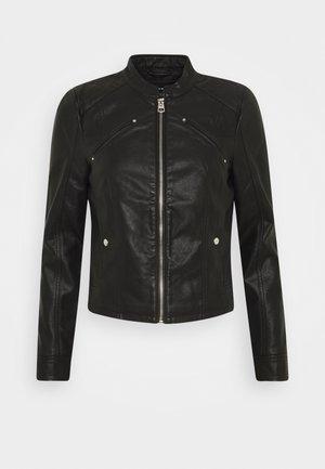 VMFAVODONA COATED  - Faux leather jacket - black