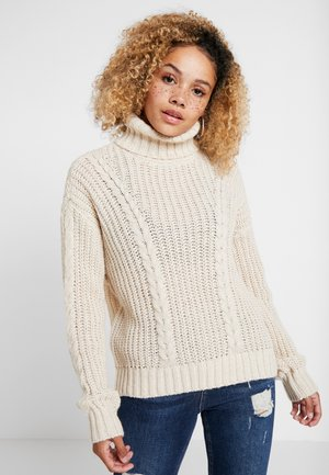 VMIMAGINE CABLE - Pullover - birch