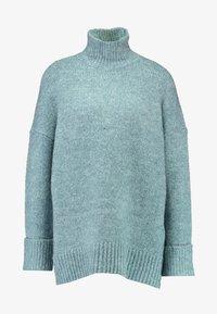 Vero Moda Petite - VMBERKO - Stickad tröja - north atlantic/melange - 6