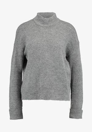 VMRANA HIGHNECK - Svetr - medium grey melange