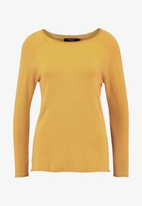 Vero Moda Petite - VMNELLIE GLORY LONG - Sweter - amber gold - 3