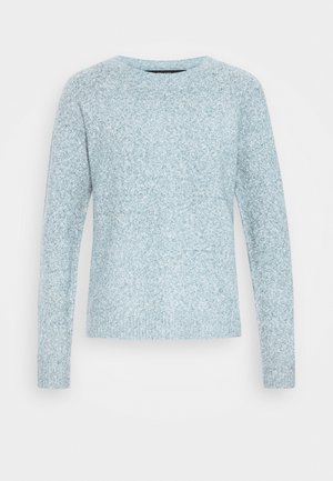 VMDOFFY NECK BLOUSE  - Strikkegenser - blue