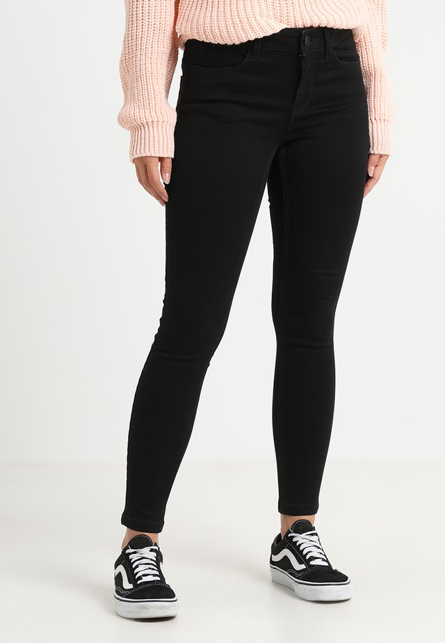 VMSEVEN SHAPE UP - Jeans Skinny Fit - black