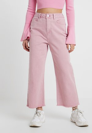 VMKATHY WIDE CROPPED - Jeansy Bootcut - foxglove