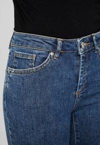 Vero Moda Petite - VMTERESA MR JEANS - Jeans Skinny Fit - dark blue denim - 5