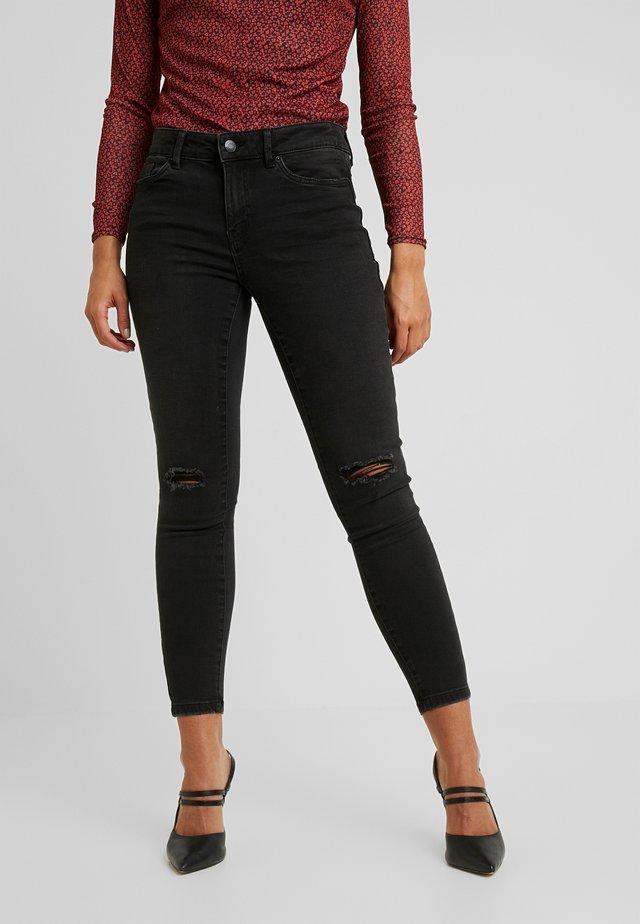 VMSEVEN SLIM - Jeans Slim Fit - black