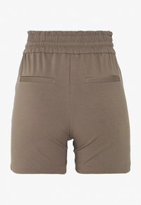 Vero Moda Petite - VMEVA SHORT RUFFLE - Shorts - grey - 1