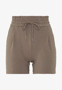 Vero Moda Petite - VMEVA SHORT RUFFLE - Shorts - grey - 0