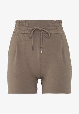 VMEVA SHORT RUFFLE - Shorts - grey