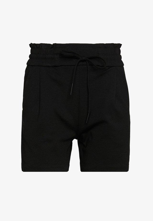 VMEVA SHORT RUFFLE - Shorts - black