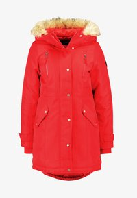 Vero Moda Petite - VMTRACK EXPEDITION - Parka - chinese red - 6