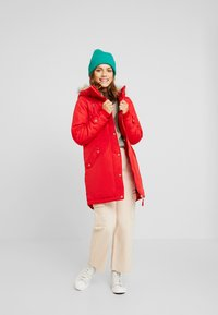 Vero Moda Petite - VMTRACK EXPEDITION - Parka - chinese red - 1