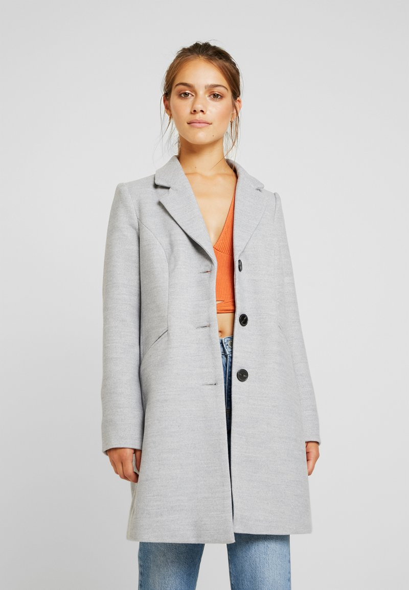 Vero Moda Petite - VMCALA CINDY JACKET - Wollmantel/klassischer Mantel - light grey melange